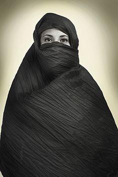 Portrait - Islamic Women´s by Juan Cruz Duran, via Behance