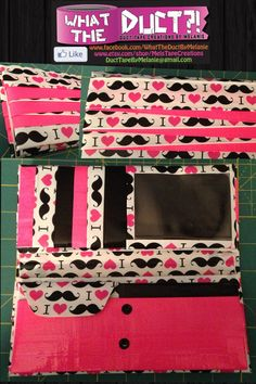 DUCT TAPE WOMEN'S WALLET BY WHAT THE DUCT BY MELANIE www.facebook.com/whattheductbymelanie