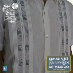 """Cuenta regresiva para... """"La Semana de Yucatán en México"""" del 13 al 22 de Mayo"""" en el Palacio de los Deportes. #LaPlazadelRecreo se prepara para llevar lo de mejor de nuestras Guayaberas bordadas a manos por nuestra comunidad maya."""