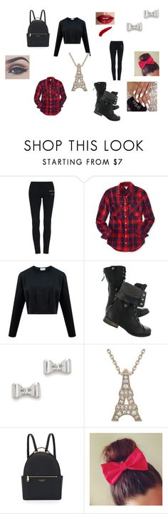 """school outfit"" by tmardo on Polyvore featuring Aéropostale, Marc by Marc Jacobs, Henri Bendel and TheBalm"