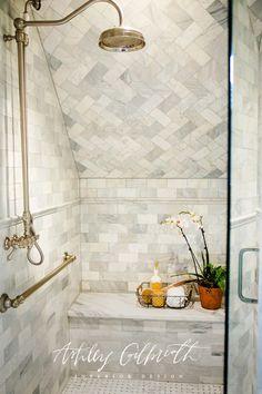Ashley Gilbreath Interior Design - Bathroom Renovation
