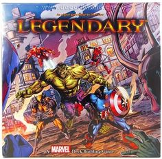 Gift for someone special. :) Marvel Legendary Deck Building Game (Upper Deck Entertainment). Supposedly replaces Dominion and Thunderstone