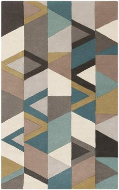 Surya Forum Charcoal Rug from the Surya Area Rugs collection at Modern Area Rugs Contemporary Area Rugs, Modern Area Rugs, Large Area Rugs, Teal Rug, Yellow Area Rugs, Blue Rugs, Blue Area, Grey Rugs, Diy Carpet