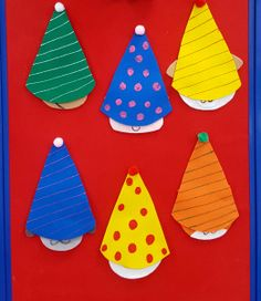 Who's hiding under the party hat? Build early math skills with this fun hide and seek flannel game! Unicorn Party Hats, Birthday Party Hats, Felt Board Stories, Felt Stories, Hidden Games, Polka Dot Party, Flannel Friday, Vintage Birthday Cards, Singing Happy Birthday