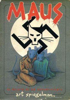 Libro Comic Maus relato de un superviviente, Art Spiegelman