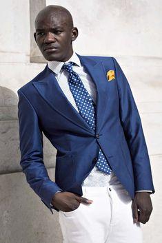 blue blazer for men