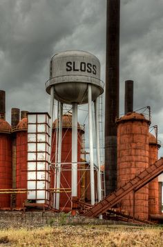 Sloss Furnaces in Birmingham, Al & I remember when it was actually running, LOL!