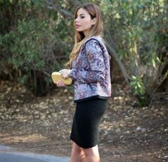 Purple, gold and a little black dress on the blog today!
