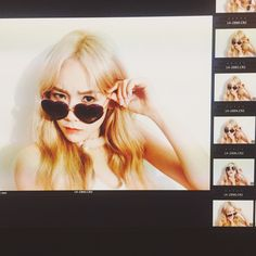 Girls' Generation Taeyeon, Girls Generation, Taeyeon Tumblr, Taeyeon Fine, Daily Look, Snsd, Kpop Girls, My Girl, Round Sunglasses
