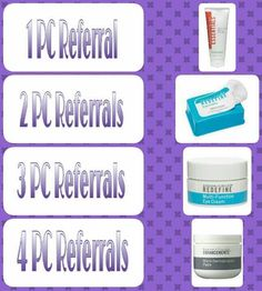 Who wants to get #Free stuff?! I love #Referrals! Share and tell your friends about Rodan +Fields, I will give you the reward, and reimburse their Preferred Customer fee for the entire month of April 2016. https://comstock.myrandf.com
