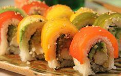 PETA's Top 10 Restaurants for Vegan Sushi: I will need when I start traveling. Vegan Sushi, Vegan Vegetarian, Vegetarian Recipes, Vegan Foods, Vegan Restaurants Los Angeles, Veg Restaurant, Veggie Delight, Weird Food, Vegan Options