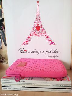 Paris is always a good idea. Via Teen Fashion Diary