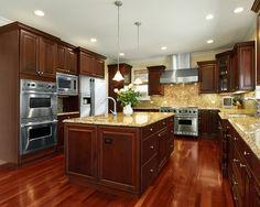 Cherry Kitchen Cabinets Home Design | Visit http://www.suomenlvis.fi/