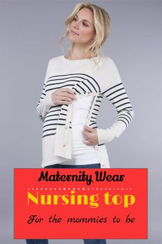The nursing top for every mom to be #ad #nursing #pregnancy