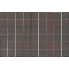 SAIC origin flatweave rug 6'x9'  | CB2