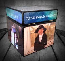 In Loving Memory Keepsake Box by Blocks From The Heart