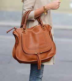 Or the tan Marcie Chloe bag. Chloe Bag, Chloe Marcie Tasche, Chloe Marcie Bag, Chloe Chloe, Chloe Wallet, Chloe Brown, Gucci Handbags, Purses And Handbags, Fashion Handbags