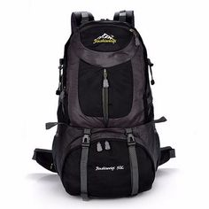 Sale 12% (54.38$) - 50L Outdoor Waterproof Backpack Sports Bag Travel Camping Hiking