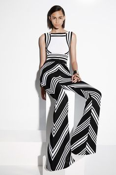 TRENDING: Black, white, and graphic. Balmain Resort 2015 Collection Slideshow on Style.com