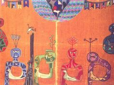 Textile Texture, Arte Popular, Art Music, Recherche Google, Art Girl, Fiber Art, Art For Kids, Folk Art, Doodles