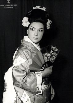 """Interview with Virginia Zeani at 90 """"My brain believes that I'm eternally young"""" - Page 2 of 2 -  Virginia Zeani as Madam Butterfly in Barcelona, 1965"""