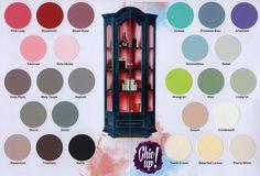 Chic Up! Möbelfarbe - Farben