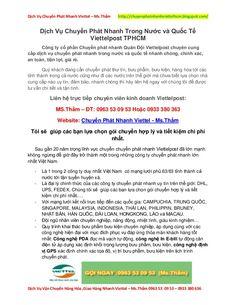 Dịch Vụ Chuyển Phát Giao Hàng Nhanh Viettel
