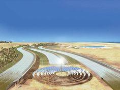 Projeto Sahara Forest quer criar oásis artificial de 200 mil metros quadrados próximo ao Mar Vermelho