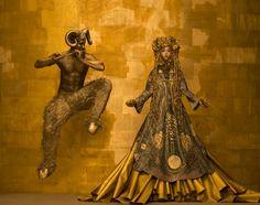 Dívány - Stílfűrész, a Dívány kultúrblogja - Életre kelt Gustav Klimt festmények a bécsi Life Ball reklámkampányában