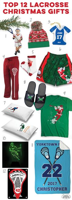 Check out these great holiday lacrosse gift ideas! Click to see more details on our top 12 guys lacrosse gift ideas. Unique lacrosse Christmas gifts you can't find anywhere else!