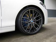 M135i F20 405M M Performance wheels installed