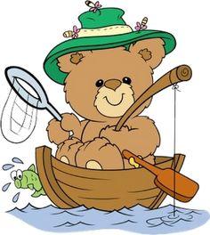 Cute Cartoon Animal Clip Art | Cute Cartoon Bears 1