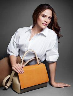 Jennifer Garner voor Max Mara Accessories s/s 2014 - Zomercampagnes 2014: McQ, Max Mara & Kenzo