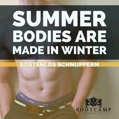 Jetzt anmelden und profitieren - und zuerst kostenlos reinschnuppern!  Summer bodies are made in Winter!   #bootcampworkout #fitness #winterthur Winterthur, Boot Camp, Summer Body, Workout, Fitness, How To Make, Photos, Pictures, Work Out