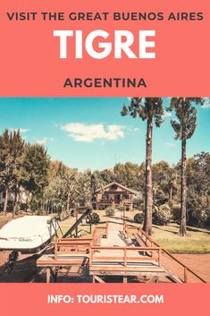 Tigre, Do you know The Great Buenos Aires? Day Trip to Tigre from Buenos Aires.  #traveltoArgentina Cities, San Antonio River, Argentina Travel, Going On A Trip, Catamaran, Day Trip, Small Towns, Did You Know, Traveling By Yourself