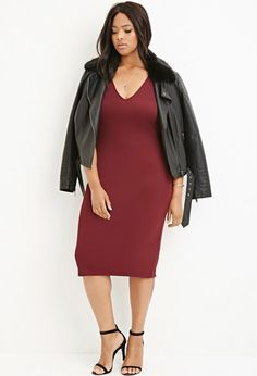 Plus Size Bodycon Dress