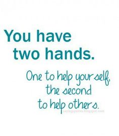 Two Hands Quotes. QuotesGram