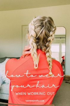 Workout Hairstyles, Twist Hairstyles, Boxer Braids, Easy Workouts, Cute Outfits, Super Cute, Hair Styles, Pretty, Fun