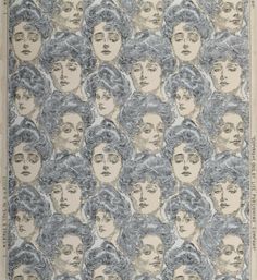 Sidewall: Bachelor's Wall Paper. Designed by Charles Dana Gibson, 1902. Gift of Philadelphia Museum of Art.