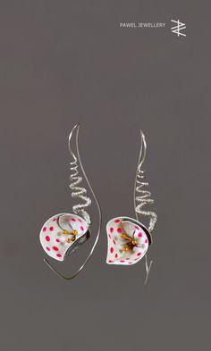Pawel Kaczynski Design - earrings - silver, stainless steel, gold, acrilic - SUMMER 2017