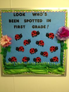 Back to school bulletin board...I would use leopards instead :)