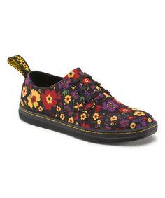 This Black Floral Korey Sneaker is perfect! #zulilyfinds