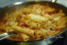skillet ziti - doesn't that look yummy?