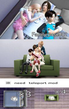 ずっと放置してたFamily_poseを配布します。 (ちょっと数少ないんですけど、テレポMODの関係で分けてます) Family_pose001→ DOWNLOAD (MediaFire) いつものように雑いやり方。 ※001はイスを置いての配置になります。(テレポ用鎧でも可) Family_pose002→DOWNLOAD (MediaFire) ※002はTeleport Any...