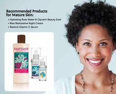mature skin care | Care for Mature Skin The Wisdom of Maturity + The Wisdom of Nature ...
