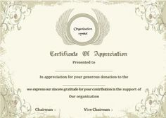Donation Certificate Of Appreciation Template Award Template, Resume Template Free, Certificate Design, Certificate Templates, Birthday Outfit For Teens, Certificate Of Appreciation, Narrative Essay, Blood Donation, Cover Letter Sample