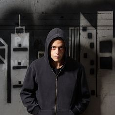 Rami Malek as Elliot Alderson in 'Mr. Robot' (2015).