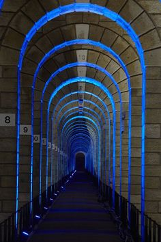 Chaumont Viaduct, France. Lighting design: Jean-François Touchard - Lighting products: iGuzzini illuminazione - Photographed by Didier Boy de la Tour