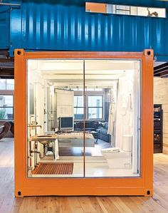 Shipping Container Wetroom Bathroom