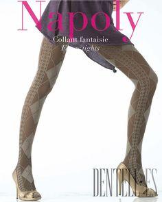 Le Bourget Collants, H/W 2007-2008 - Dessous - http://de.dentell.es/fashion/lingerie-12/tights-legwear/le-bourget,328